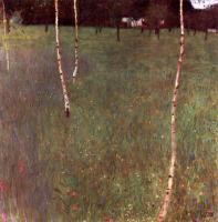 Gustav Klimt - Крестьянский дом с березами