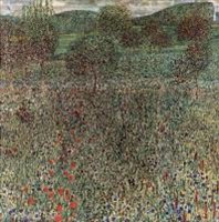 Цветущая нива ( пейзаж ) :: Густав Климт (Австрия )