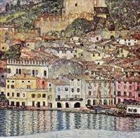 Gustav Klimt - Замок Мальчезине на озере Гарда