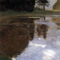 Gustav Klimt - Пруд в парке замка Каммер