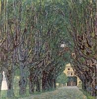 Gustav Klimt - Дорога в парке замка Каммер