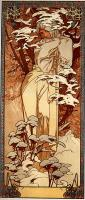 Alfons Maria Mucha - Зима