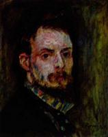 Pierre-Auguste Renoir - Ренуар, Пьер-Огюст, картины - портрет, ню, жанровая живопись импрессионизма