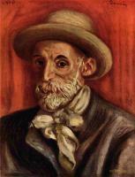Pierre-Auguste Renoir - Ренуар, Пьер-Огюст Автопортрет