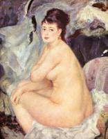 Pierre-Auguste Renoir - Обнажённая Анна