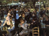 "Pierre-Auguste Renoir - Танцы в ""Мулен де ла Галетт"""