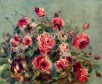 Pierre-Auguste Renoir - Натюрморт. Розы из Варжмона