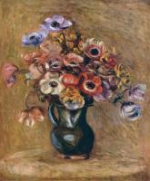 Pierre-Auguste Renoir - Натюрморт с анемонами