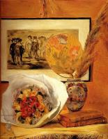 Pierre-Auguste Renoir - Натюрморт с букетом