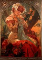Alfons Maria Mucha - Рекламные плакаты Мухи, ч.1