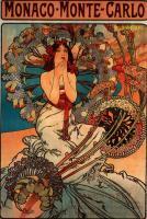 рекламный плакат- Монако-Монте-Карло :: Альфонс Муха ( Чехия, Чехословакия )