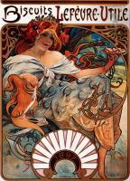 Муха Альфонс - Рекламный плакат