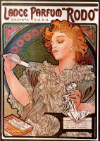 """Alfons Maria Mucha - Рекламный плакат парфюма """"Родо"""""""