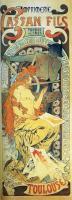 Alfons Maria Mucha - Реклама типографии