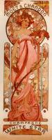 Alfons Maria Mucha - Реклама шампанского