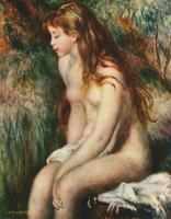 Pierre-Auguste Renoir - Купальщица