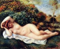 Pierre-Auguste Renoir - Спящая купальщица (Булочница)