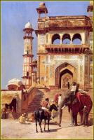 Архитектура - Перед мечетью