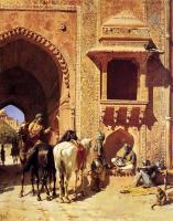 Архитектура - Ворота крепости в Агре ( Индия )