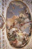 Фрески, монументальная живопись, роспись стен - Апофеоз испанской монархии