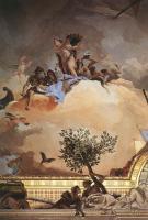 Фрески, монументальная живопись, роспись стен - Слава Испании ( Фрагмент )