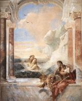 Фрески, монументальная живопись, роспись стен - Фетида утешает Ахилла