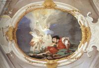 Фрески, монументальная живопись, роспись стен - Видение Якоба