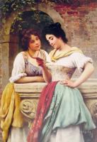 Романтические сюжеты в живописи - Письмо вслух
