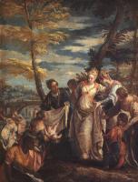Библейские сюжеты в живописи - Обретение Моисея