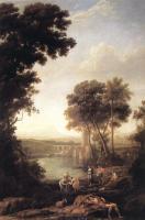 Библейские сюжеты в живописи - Пейзаж с обретённым Моисеем