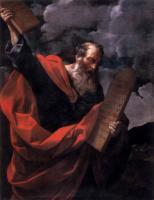 Библейские сюжеты в живописи - Моисей с заповедями