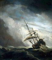 Море в живописи ( морские пейзажи, seascapes ) - Судно в открытом море