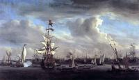 Море в живописи ( морские пейзажи, seascapes ) - Боевые корабли