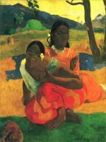 Paul Gauguin - Гоген, Поль Nafea Faa I poipo (Когда ты выйдешь замуж)