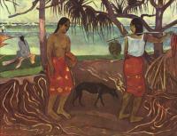 Paul Gauguin - I Raro Te Oviri