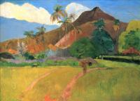 Paul Gauguin - Горы на Таити