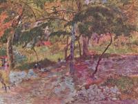 Гоген Поль ( Paul Gauguin ) - Пейзаж на Мартинике