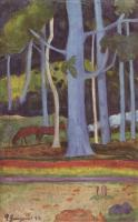 Paul Gauguin - Пейзаж на Таити
