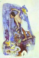 Paul Gauguin - Pape moe Таинственный источник