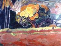 Гоген Поль ( Paul Gauguin ) - Fatata Te Mou ( у подножия горы )