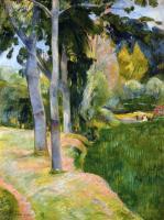 Paul Gauguin - Большие деревья