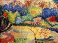 Paul Gauguin - Таитянский пейзаж