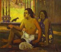Paul Gauguin - Eilaha Ohipa ( Праздность / Таитяне в комнате )