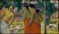 Paul Gauguin - Три таитянки