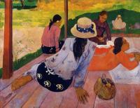 Paul Gauguin - Обеденный отдых (сиеста)