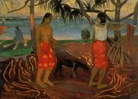 Гоген Поль ( Paul Gauguin ) - I rara te oviri ( под пандановым деревом )