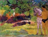 Paul Gauguin - В Ванильной роще