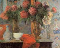 Paul Gauguin - Натюрморт с белыми сосудами