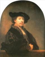 Rembrandt - Автопортрет в 34 года