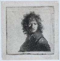 Rembrandt (Рембрандт) - Автопортрет